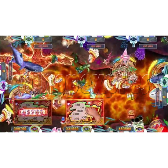 Seafood Paradise 4 USA Edition Fishing Game Full Game Board Kit - screen display 12