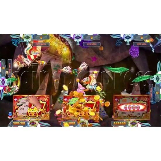 Seafood Paradise 4 USA Edition Fishing Game Full Game Board Kit - screen display 13