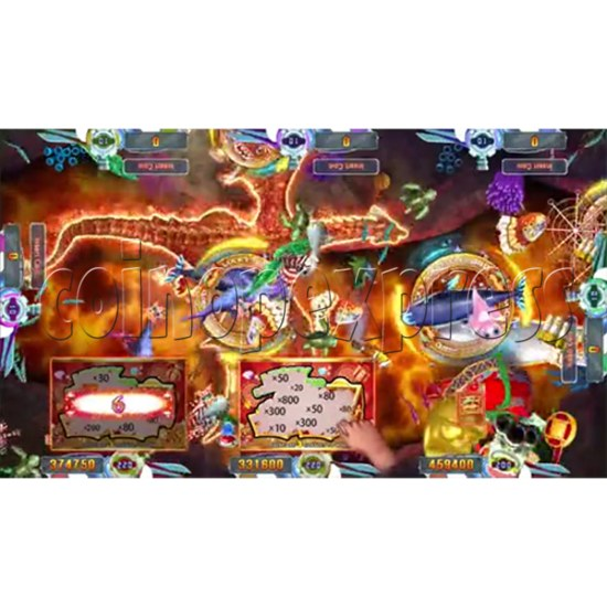 Seafood Paradise 4 USA Edition Fishing Game Full Game Board Kit - screen display 14