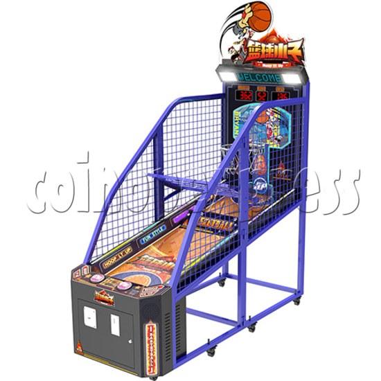 Hoop It Up Street Basketball Machine 37812