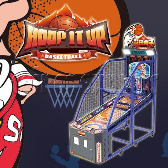 Hoop It Up Street Basketball Machine 37819