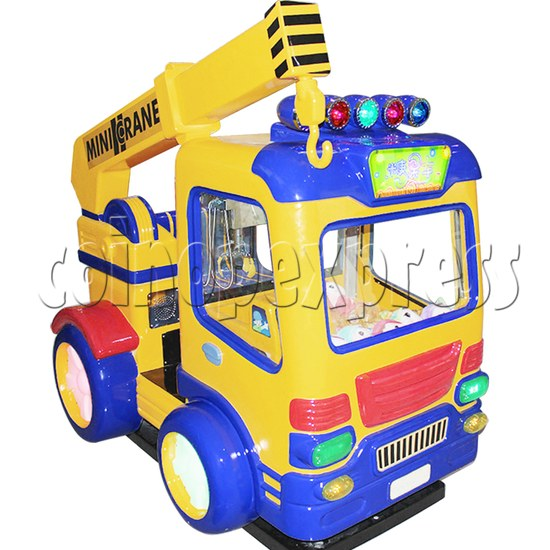 Candy Car Crane Machine with kiddie ride feature 37837