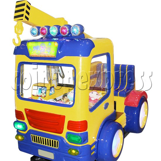 Candy Car Crane Machine with kiddie ride feature 37838
