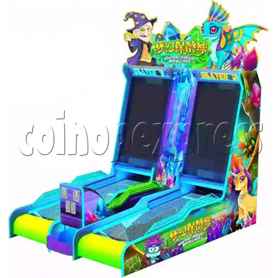 Mini Fantasy Bowling Video Redemption Machine 37857