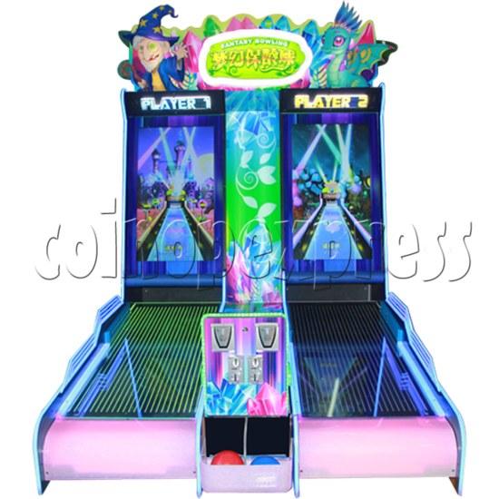 Mini Fantasy Bowling Video Redemption Machine 37858