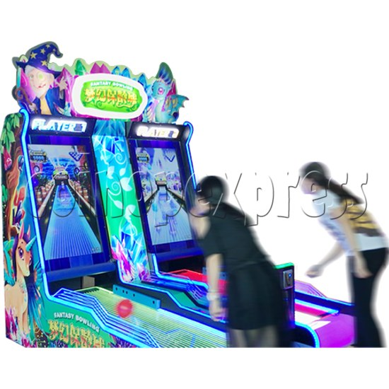 Mini Fantasy Bowling Video Redemption Machine 37860