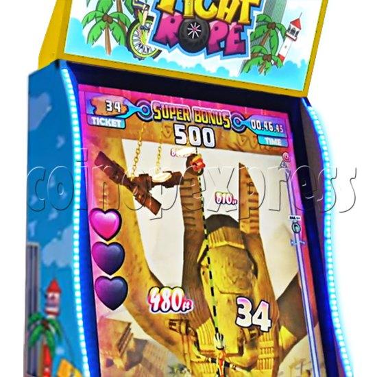 Tight Rope Video Arcade Ticket Redemption Game Machine 37893