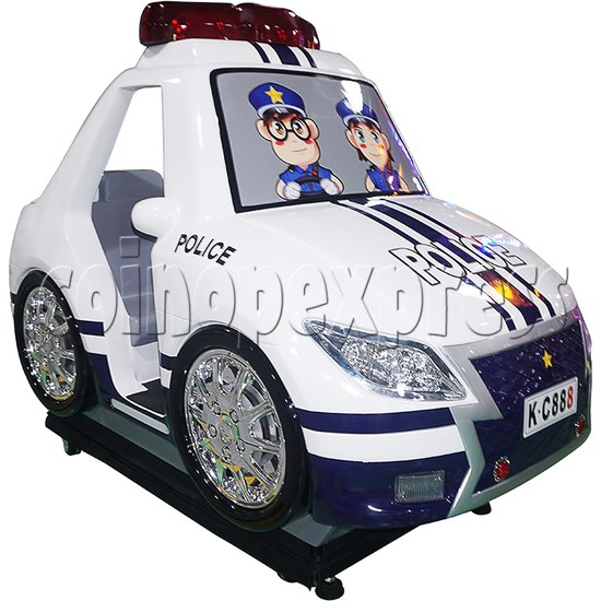 Police Car Video Kiddie Ride 37936