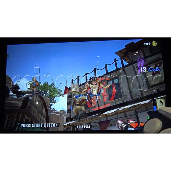 Bounty Ranger Arcade Machine Screen