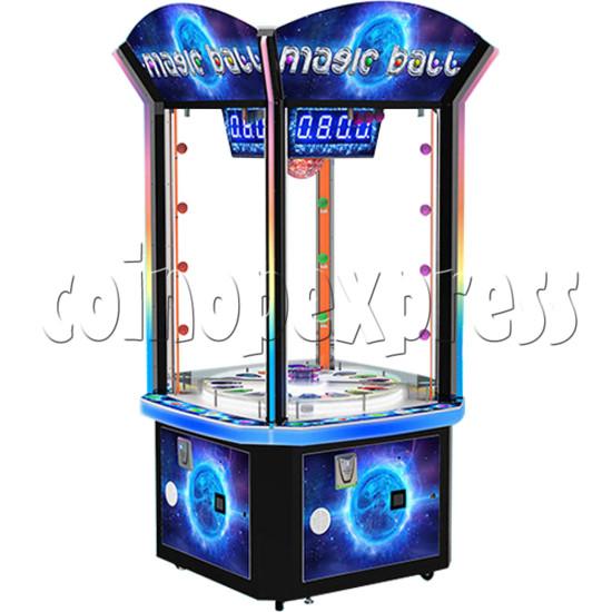 Magic Ball Ticket Redemption Arcade Machine - side view