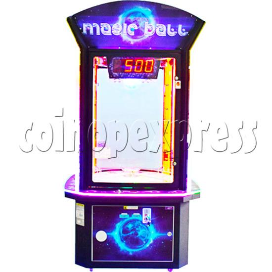 Magic Ball Ticket Redemption Arcade Machine - front view