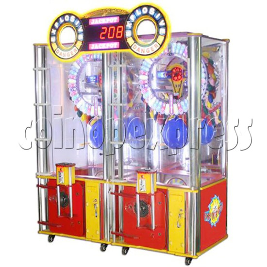 Explosive Balloon Pop Ticket Redemption Arcade Machine 2 Players - right view