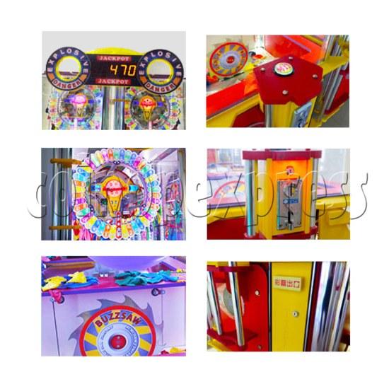 Explosive Balloon Pop Ticket Redemption Arcade Machine 2 Players - part 2