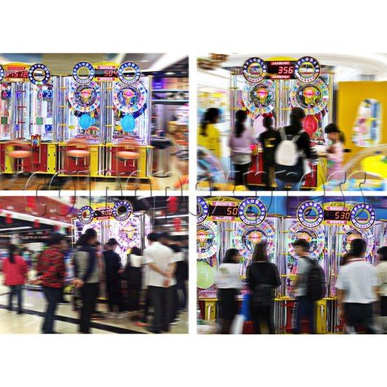 Explosive Balloon Pop Ticket Redemption Arcade Machine 2 Players - play view 2
