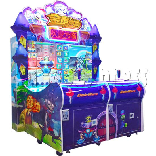 Coin War Shooting Redemption Machine (2 Players) Left