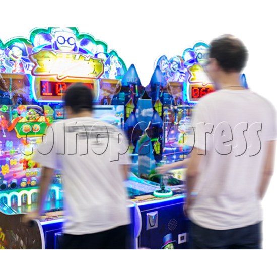 Coin War Shooting Redemption Machine (2 Players) Play