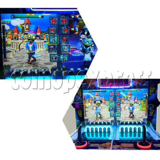Coin War Shooting Redemption Machine (2 Players) Screen