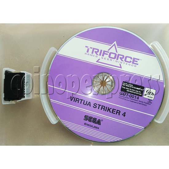 GD-Rom and Security IC for Virtua Striker 4 Ver 2004 kit