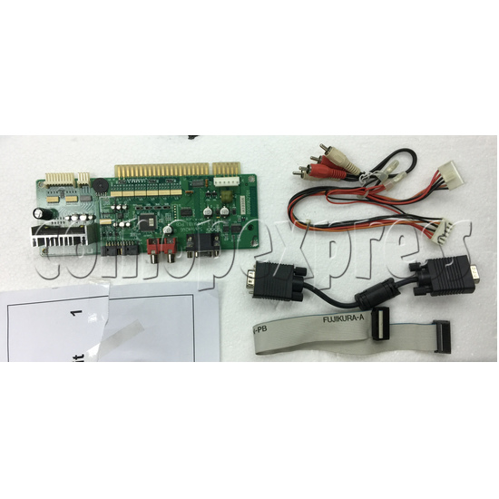 Sengoku Basara X Arcade Game kit -pcb and wiring harness