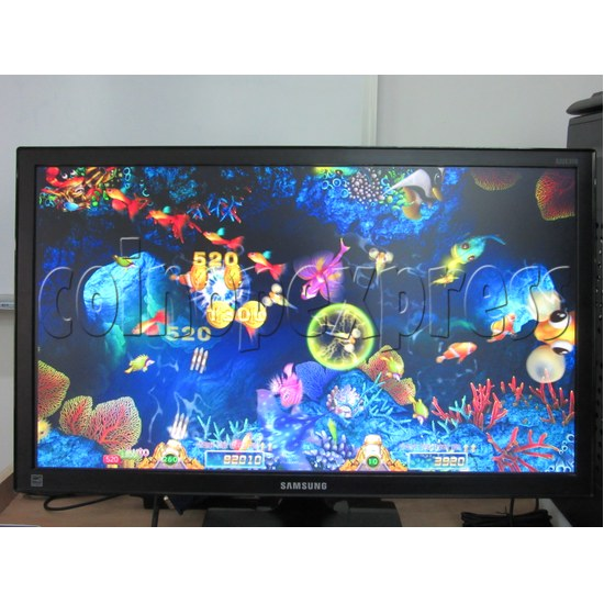 Sea Creature Arcade game board kit -game play 1