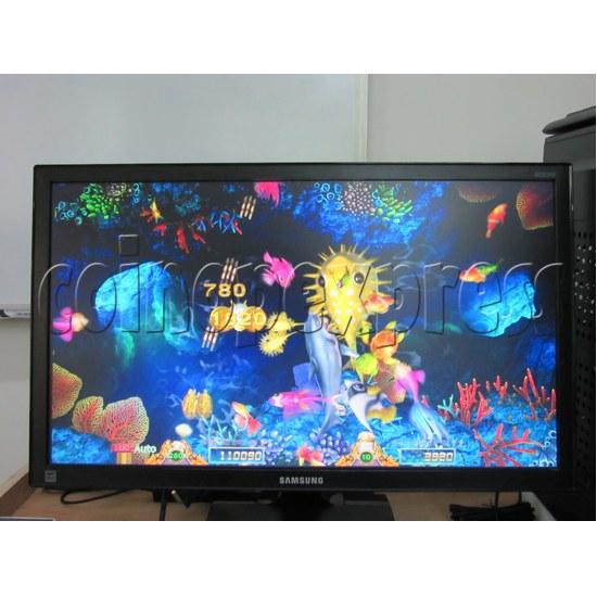 Sea Creature Arcade game board kit -game play 2