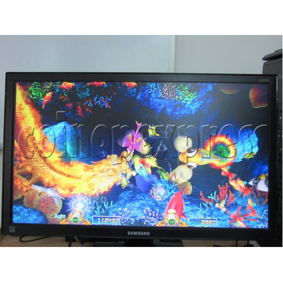 Sea Creature Arcade game board kit -game play 3