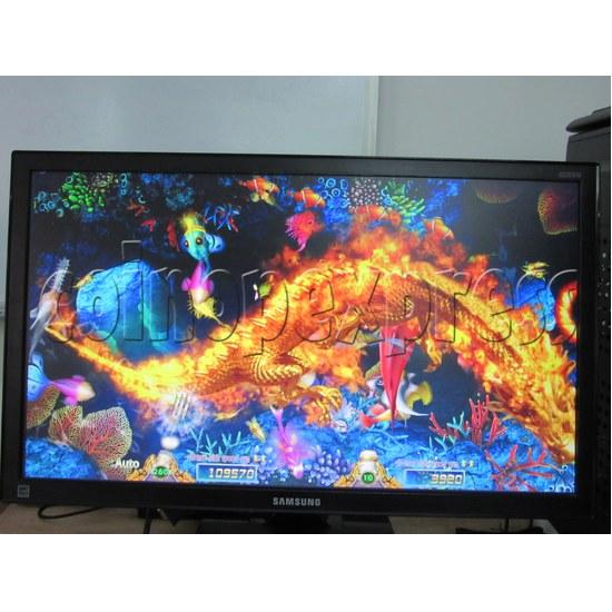 Sea Creature Arcade game board kit -game play 4