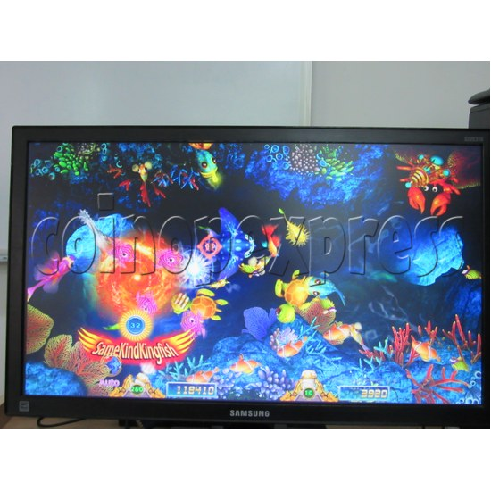 Sea Creature Arcade game board kit -game play 5