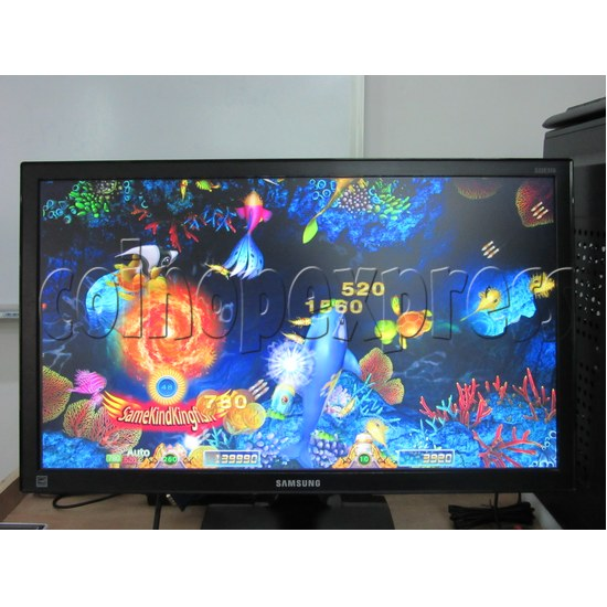 Sea Creature Arcade game board kit -game play 7
