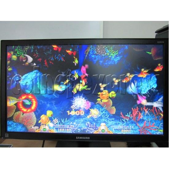 Sea Creature Arcade game board kit -game play 9