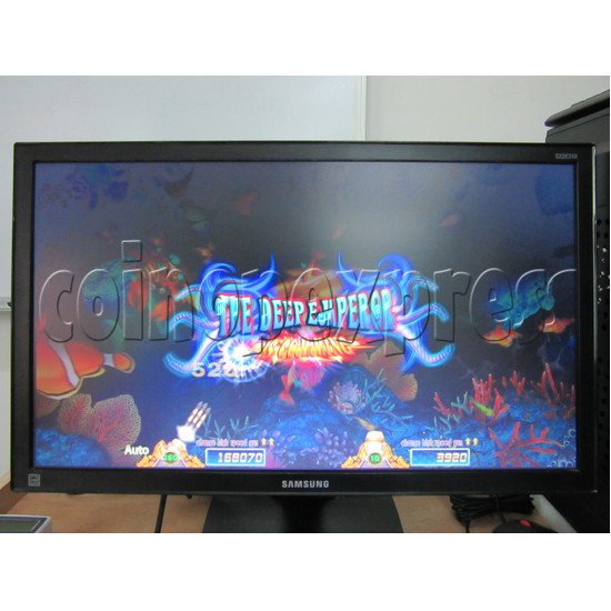 Sea Creature Arcade game board kit -game play 10