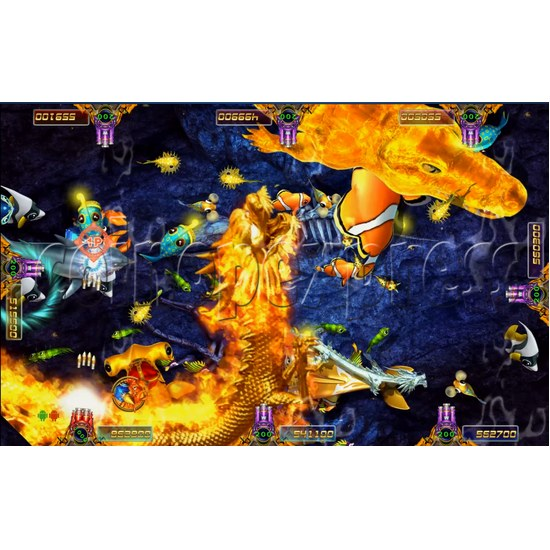 Ocean king 3 Arcade Game Board Kit -game play 1