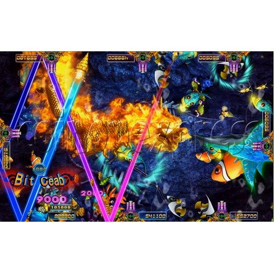 Ocean king 3 Arcade Game Board Kit -game play 2