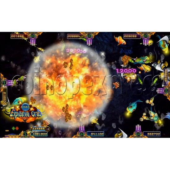 Ocean king 3 Arcade Game Board Kit -game play 3