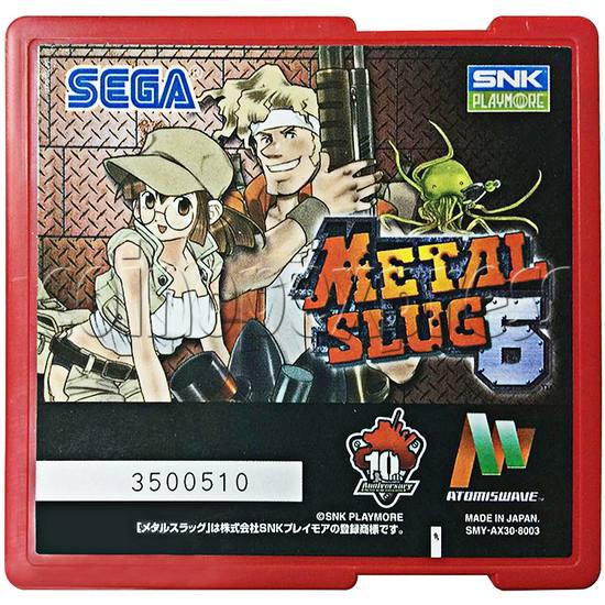 Metal Slug 6 Arcade software - front view