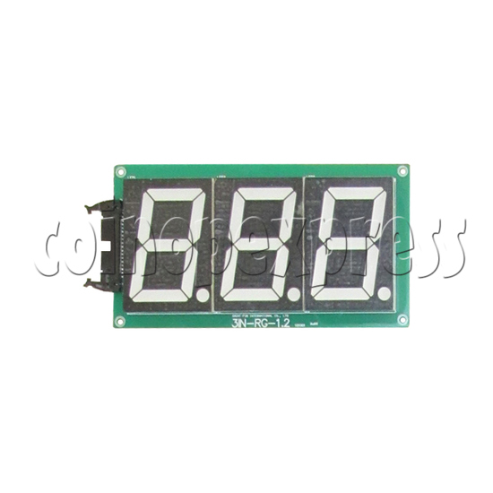 High Score And Score display board for Street Basketball Machine - front view