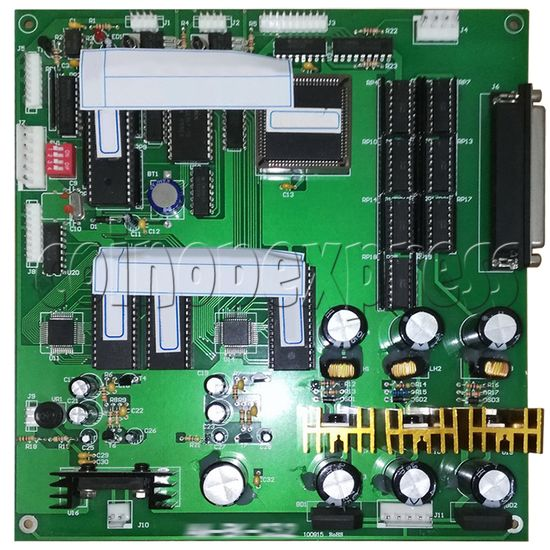 Mainboard for Street Basketball Machine - front view