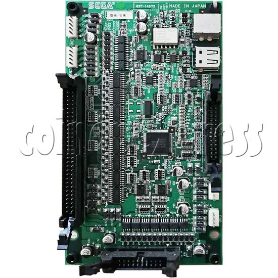 I/O Board for Sega Arcade Game Machine - Part No.837-14572