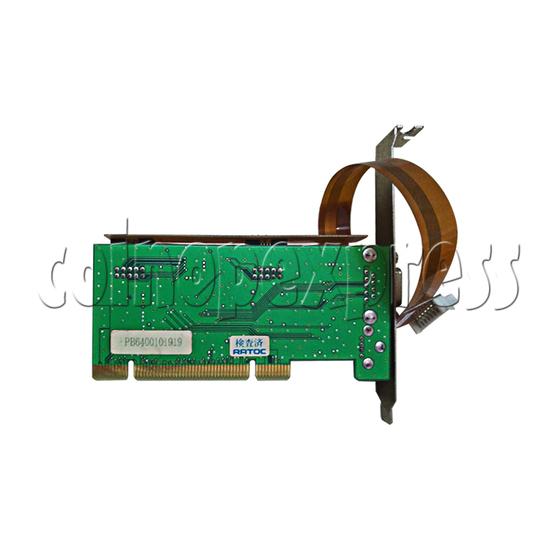 PCI JVS I/O Board for Wangan Midnight Maximum Tune 3 DX Plus Game Machine-back view