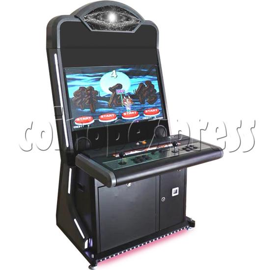 Warlord 32 inch Grey Arcade Cabinet-black