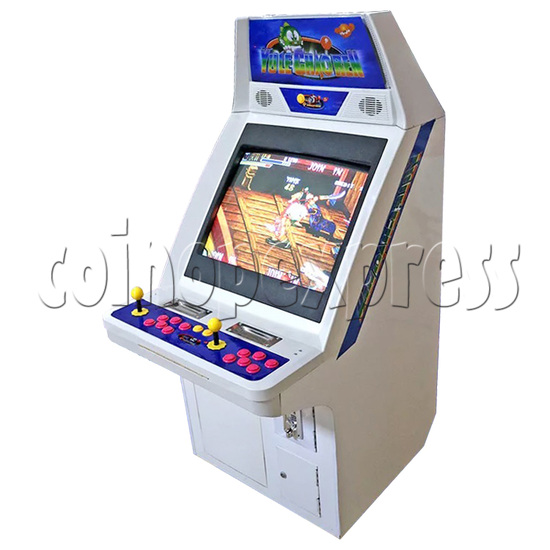 Classic Street Fighter 25 inch CRT Arcade Cabinet-side view