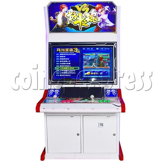 Fighting Spirit 32 inch Arcade Cabinet-front view