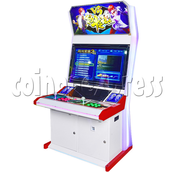 Fighting Spirit 32 inch Arcade Cabinet-right side view