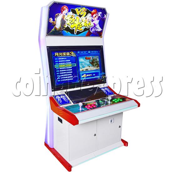 Fighting Spirit 32 inch Arcade Cabinet-left side view