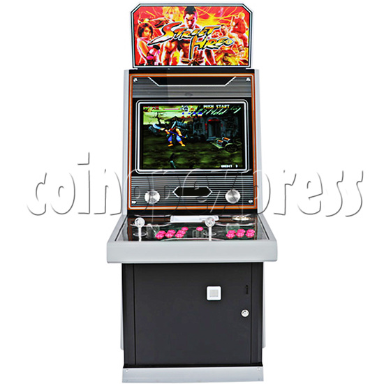 Street Hero 22 inch Arcade Cabinet - front view