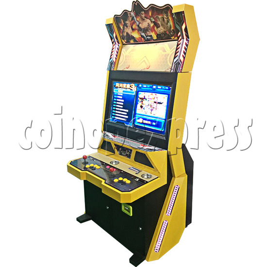 Golden War 32 inch Arcade Cabinet - angle view
