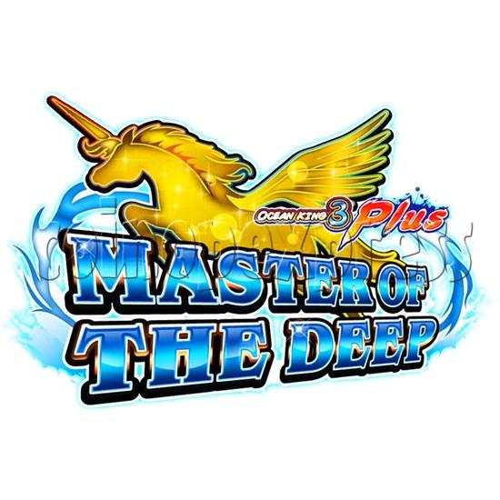 Ocean king 3 plus Master of The deep Fish Hunter Game board kit China release version - game logo