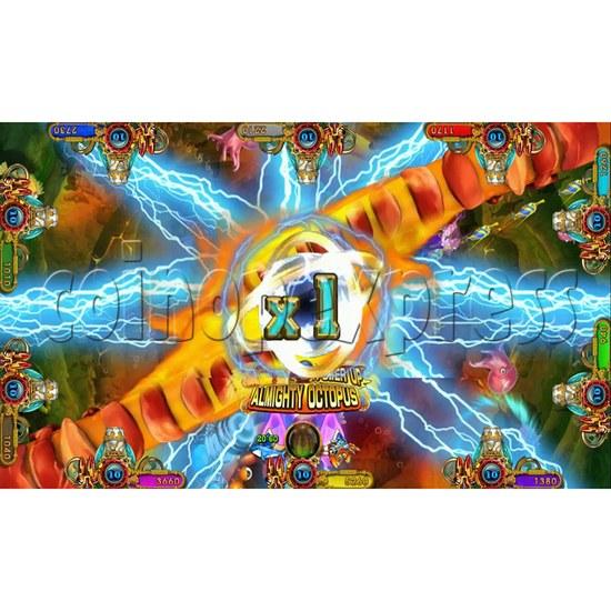 Ocean king 3 plus Master of The deep Fish Hunter Game board kit China release version - screen display 3