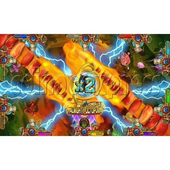 Ocean king 3 plus Master of The deep Fish Hunter Game board kit China release version - screen display 4