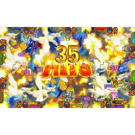 Ocean king 3 plus Master of The deep Fish Hunter Game board kit China release version - screen display 11